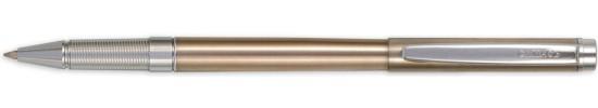 салиас ручки, ручка роллер Салиас Гдов сталь с отделкой хромом