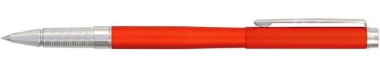 салиас ручки, ручка роллер Салиас Гдов красный матовый с отделкой хромом