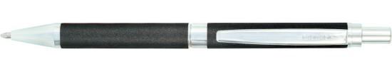 салиас ручки, ручка шариковая Салиас Гдов антрацит с отделкой хромом