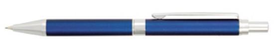 салиас ручки, механический карандаш Салиас Гдов  синий матовый с отделкой хромом