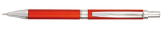 салиас ручки, механический карандаш Салиас Гдов  красный матовый с отделкой хромом