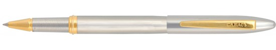 салиас ручки, ручка роллер Салиас Новгород покрыта хромом с позолоченной отделкой