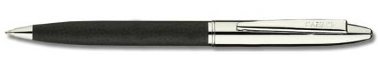 салиас ручки, ручка шариковая Салиас Новгород  хром черная имитация кожи