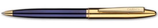 салиас ручки, ручка шариковая Салиас Новгород Репортер покрыта синим лаком с позолоченной отделкой