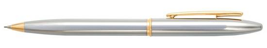 салиас ручки, карандаш механический Салиас Новгород покрыта хромом с позолоченной отделкой
