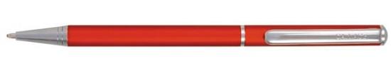 салиас ручки, ручка шариковая Салиас Псков из алюминия матовая красная