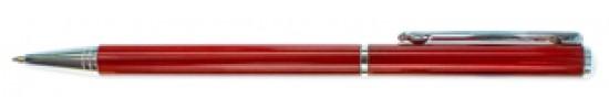 салиас ручки, ручка шариковая Салиас Псков из алюминия красный лак