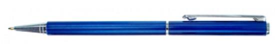салиас ручки, ручка шариковая Салиас Псков из алюминия синий лак