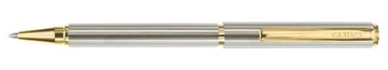 салиас ручки, ручка шариковая Салиас Ростов покрыт сплавом из никель-хрома с отделкой золотом