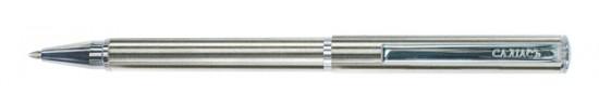 салиас ручки, ручка шариковая Салиас Ростов покрыт сплавом из никель-хрома с отделкой хромом