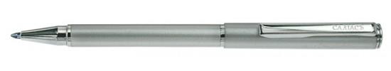 салиас ручки, ручка шариковая Салиас Ростов покрыта серебрянной краской с отделкой хромом