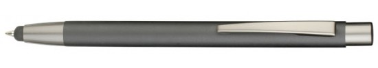 салиас ручки,ручки со стилусом, ручка шариковая Салиас Тихвин из алюминия матовая  со стилусом
